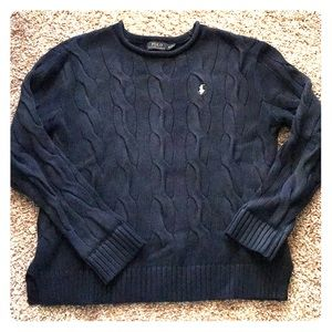 Polo Ralph Lauren Cable knit Rolled Neck Crew